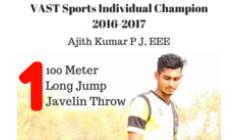VAST Sports Individual Champion 2016-2017