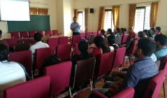 NIT Calicut faculty interacts with MTech students on research areas