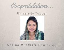 University Topper