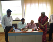 VAST Enters to MoU with CDAC Trivandrum