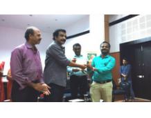 OISCA award for Vidya