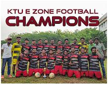 Champion in KTU E Zone Football Tournament