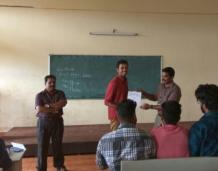 Third place in Calicut University Yoga Championships